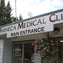 Omineca Medical Clinic entrance